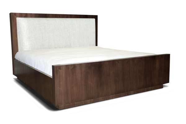 clinton bed upholstered headboard - Headboard Of Bed