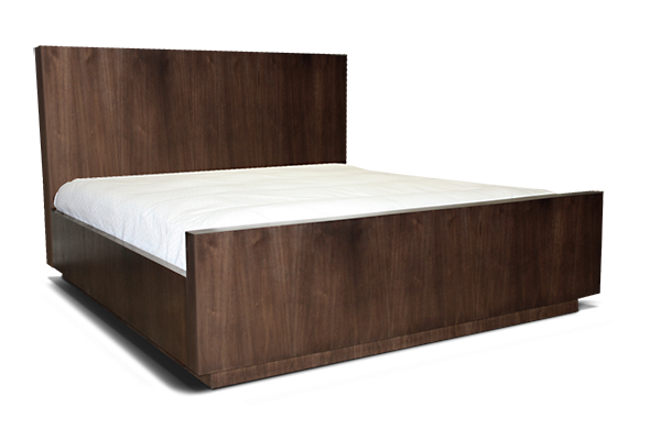 Clinton Bed With Wood Headboard