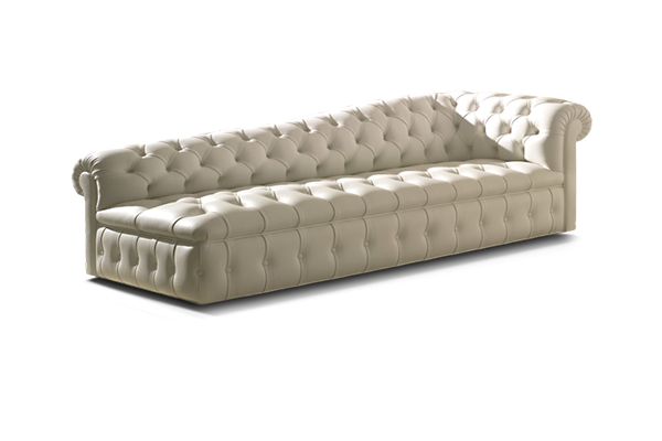 NYC Custom Upholstery Chesterfield Sofa from Luigi Gentile
