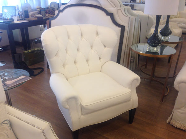 Baxter Tufted Wing Chair