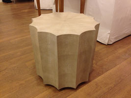 Ursula Shagreen Side Table