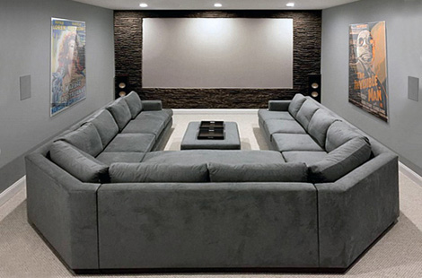 Sectional Theater Seating