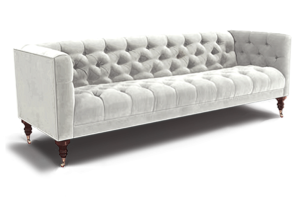 Spruce Tufted Dining Banquette